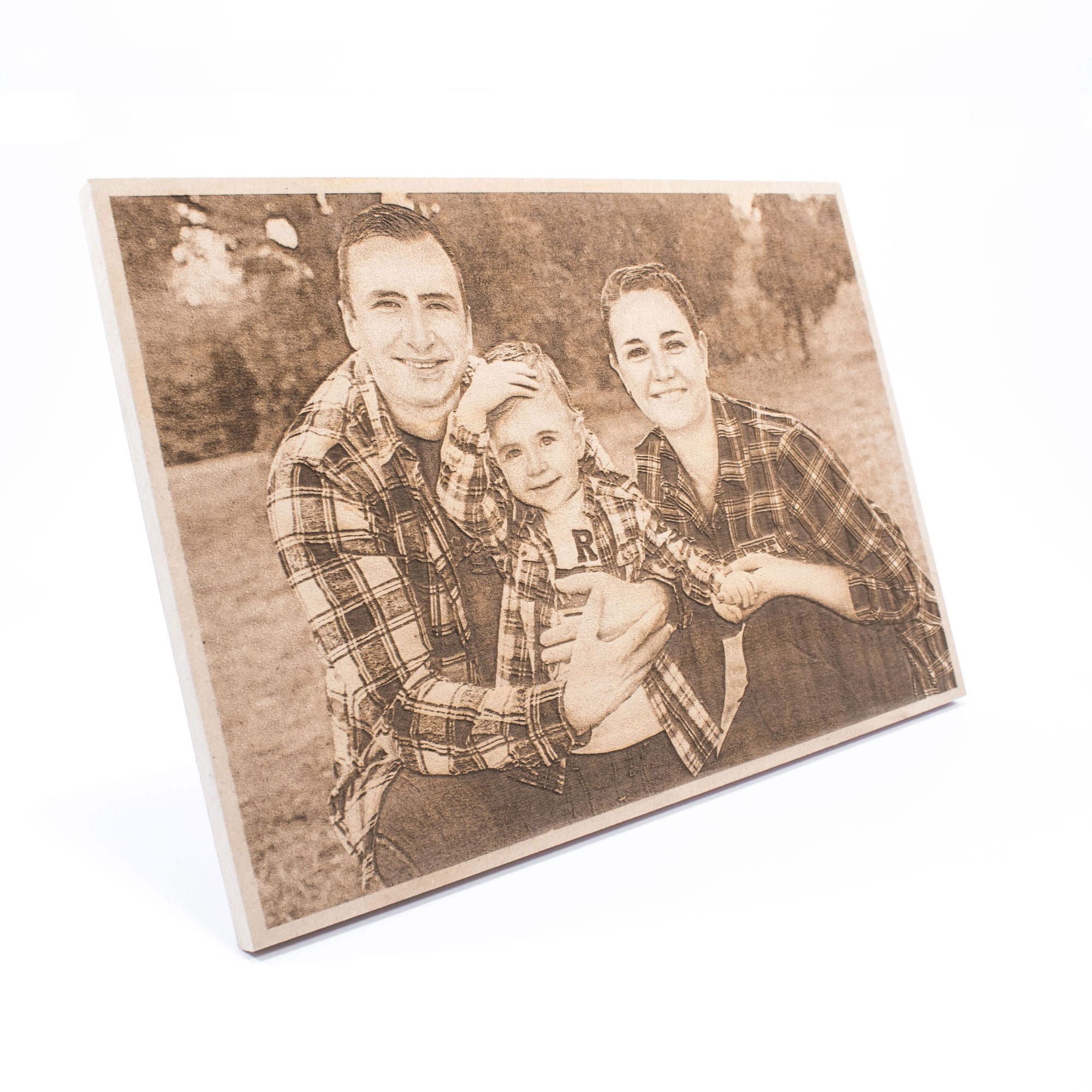Woodprint of a personal photo